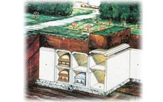 lawn crypt